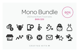Mono Icons Bundle