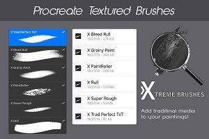Procreate Textured Brushes