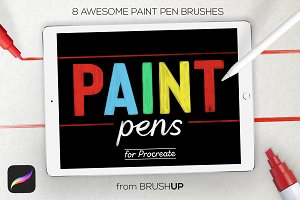 Paint Pens for Procreate