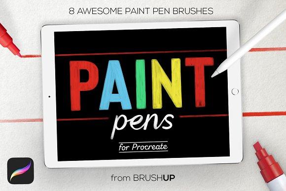 Paint Pens for Procreate