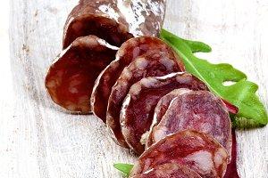 Delicious Sliced Salchichon