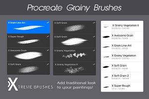 Procreate Grainy Brushes