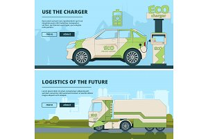 Eco station for electric cars
