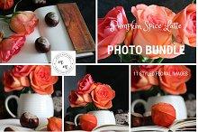 Pumpkin Spice Latte Mini PhotoBundle