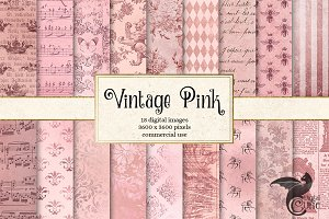 Vintage Pink Textures