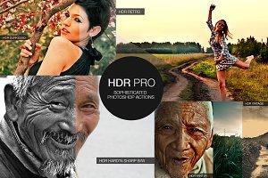 HDR PRO Action Set