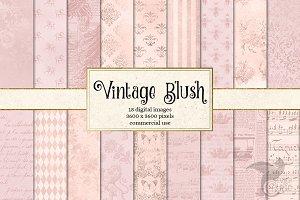 Vintage Blush Textures