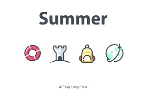 Summer 23 icons