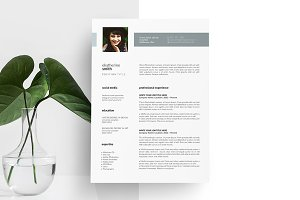 CV with Photo. Resume Design