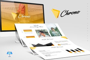 Chrono - Keynote Template
