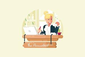 The Accountant - Vector Activity