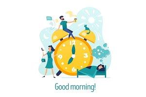 Good morning. Creative concept