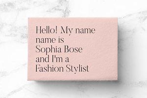 Business Card No.004