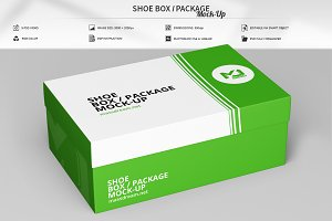 Shoe Box / Package Mock-Up