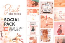 Blush Emotions - Social Pack by  in Social Media