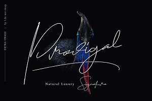 Prodigal Signature (extra swash)