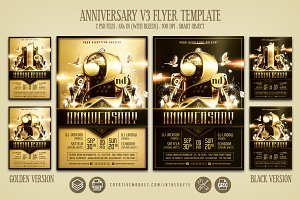 Anniversary V3 Flyer Template
