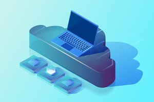 Cloud computing and digital storage