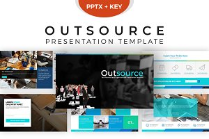 Outsource Presentation Template