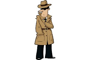 Cartoon Spy
