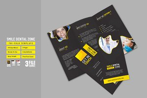 Smile Dental Zone Tri-Fold