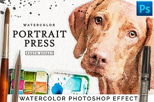 Watercolor Portrait Effect PRO