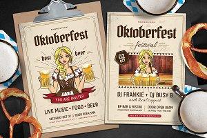 Oktoberfest Flyer / Poster Vol.1