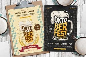 Oktoberfest Flyer / Poster Vol.2