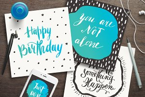 Motivational quotes & greeting cards