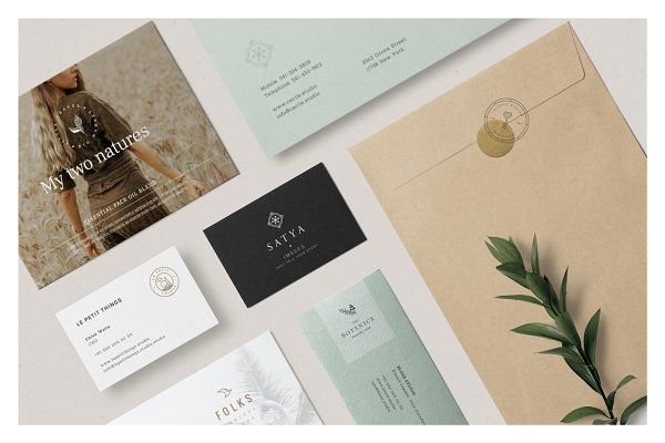 Logo Templates: Mlekoshi Design Concept - Logo Pack — Entrepreneur Brand Kit