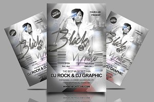 Black & White Affair Party Flyer