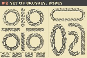 Set of brushes #2: Ropes
