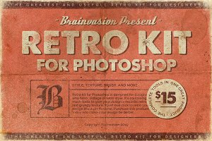 [60%OFF] Retro Kit For Photoshop