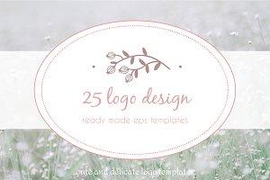 25 premade logo designs