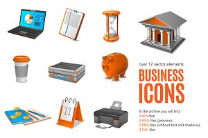 Sale! Business Icons Set