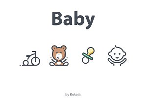 Baby 22 icons