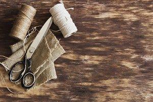 old tailoring scissors