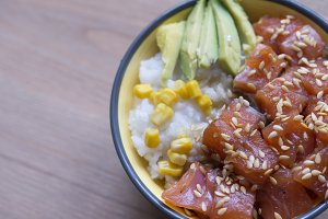 Poke bowl hawaii