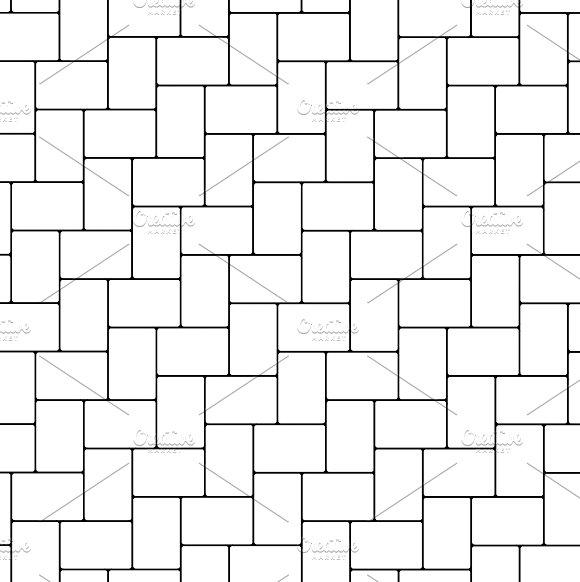 Herringbone paving seamless texture