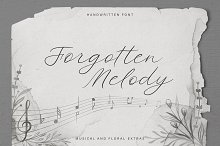 Forgotten Melody. SALE!