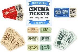Cinema Tickets Themes