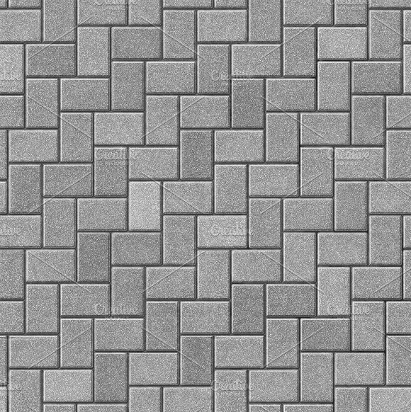 Herringbone paving seamless texture