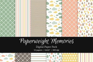 Patterned Paper - I Feel Pretty