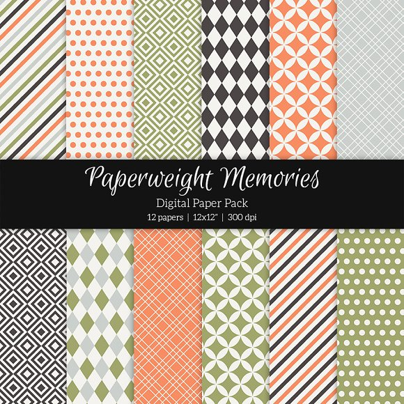 Patterned Paper - Right Now