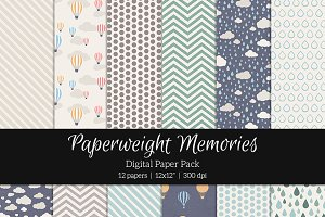 Patterned Paper - Rainy Day