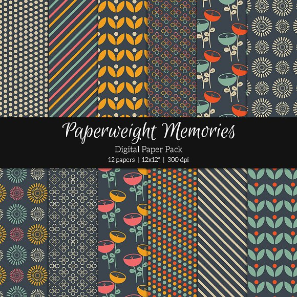 Patterned Paper - Happy Hour