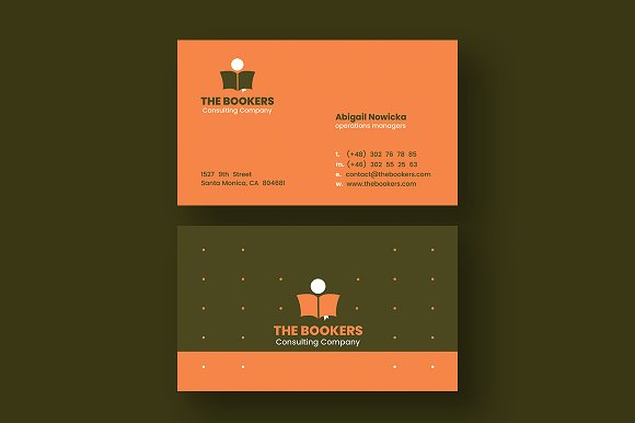 Consulting Business Cards Business Card Templates Creative Market