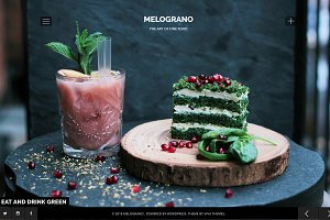 Melograno - Restaurant & Bar Theme