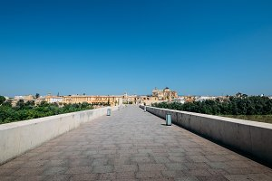 Famous Roman bridge Cordoba, Spain