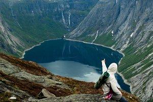 Trolltunga in Norway is fabulous bea